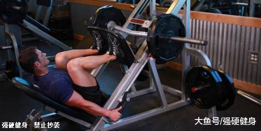 有些人不练自由深蹲, 却喜欢腿举这个动作, 这样练腿最后会怎样?