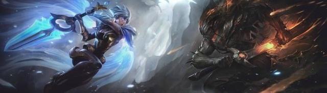 英雄联盟: 光明与黑暗的终极pk, 亚索瑞文新皮肤今日上线