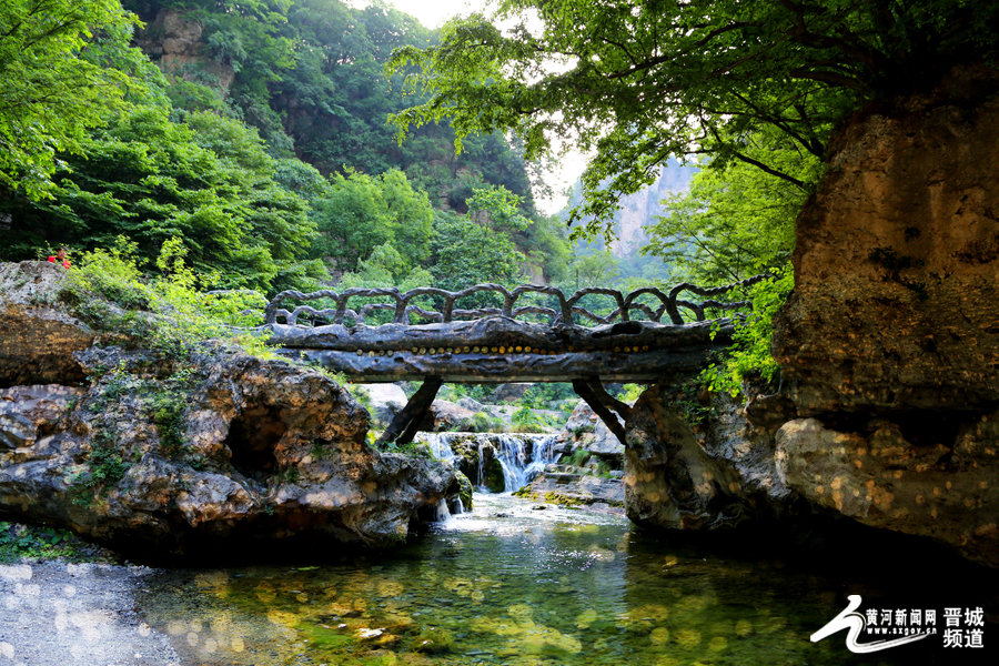 蟒河风景区: 北方小桂林