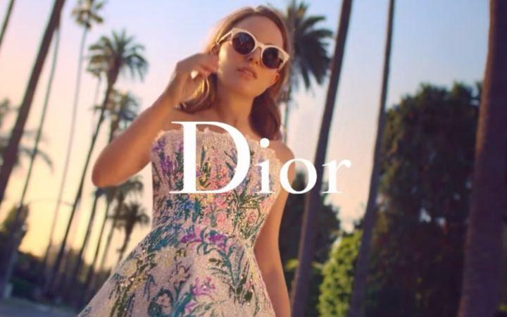 dior香水广告 x chandelier 娜塔莉波特曼出演
