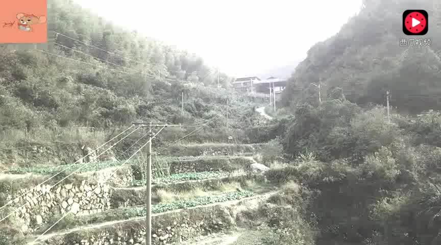 航拍湖南湘潭韶山, 伟人故乡大山深处唯一的一户人家