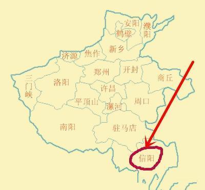 为什么信阳属于河南省却不属于湖北省? 一步夸两省感觉很奇妙