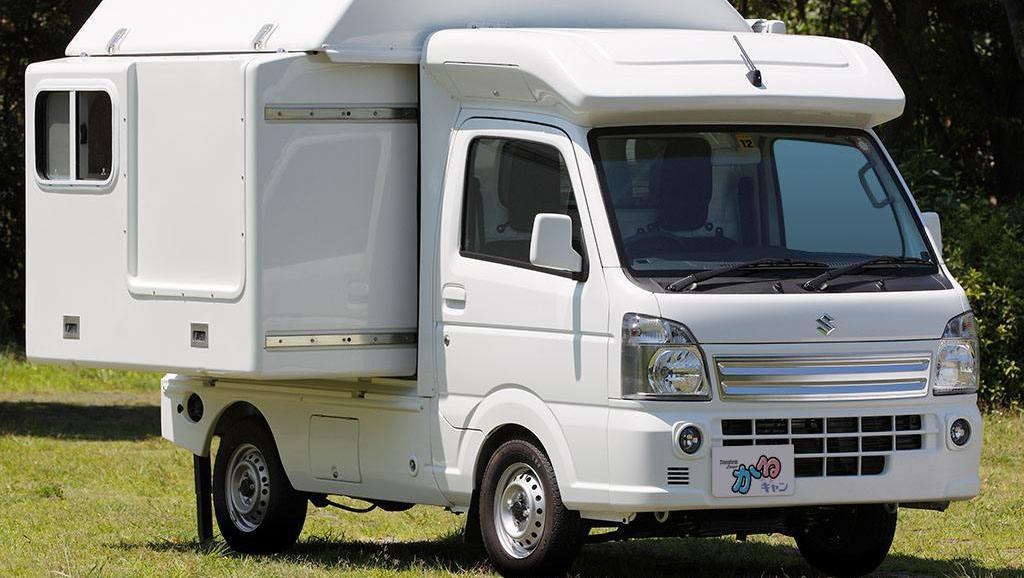 3.4米的小房车,两张床带洗手池和阁楼,售价只需7万,上市要火!