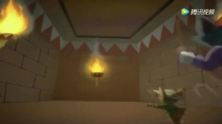 汤姆和杰瑞进入金字塔寻宝, 碰到可怕的木乃伊