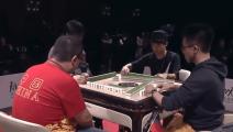 看看世界麻将大赛专业人士的比赛 果然处处是陷阱 更服女解说 这解说才是真正的雀神!