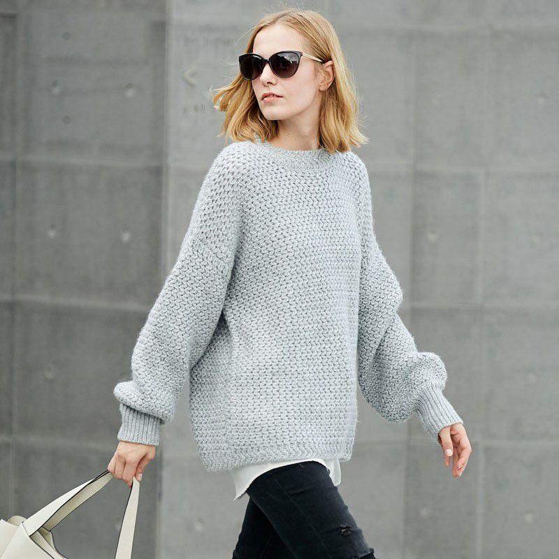 """别穿秋衣了! 时髦女人都用""""衬衫""""配毛衣, 温暖显瘦很有气质!"""
