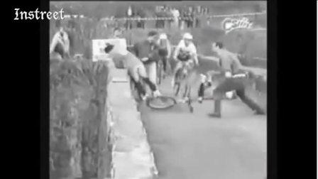 自行车比赛犯规的下场,太可怕了