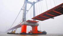长江上第163座大桥正在开工,将成为世界上跨度最大的双层悬索桥