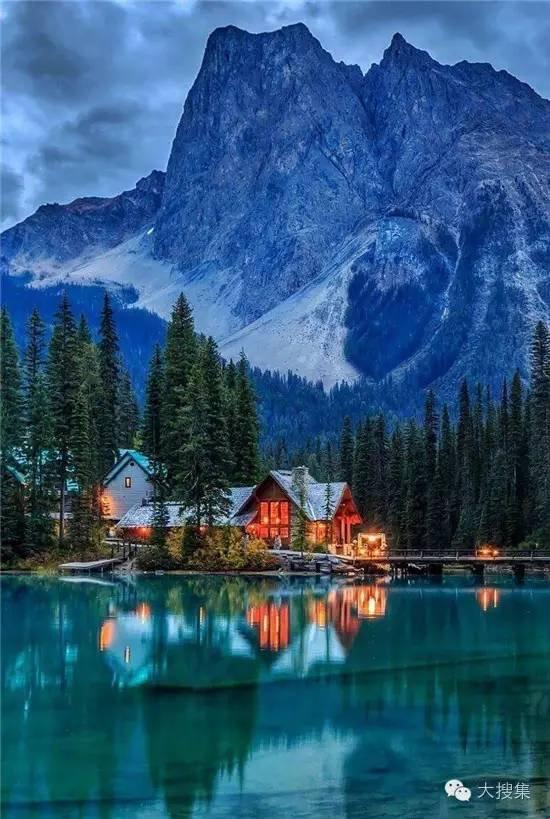 美丽风景, 水边小屋 - 微信奴
