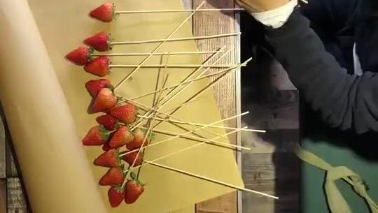 与其会凋谢的玫瑰,还不如实在的草莓花