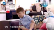 杜江: 嗯哼妈妈走了你不送送吗,嗯哼: 恩,你自己走吧