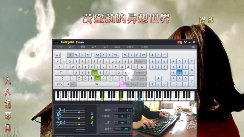 天使的歌声钢琴曲曲谱