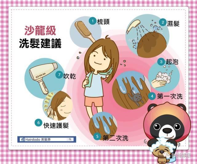 在家也能拥有, 沙龙级洗发七步骤!