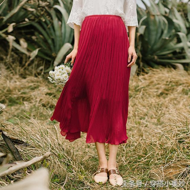 复古半身裙_文艺复古清新半身裙, 阳光明媚的五月做个有气质的女子