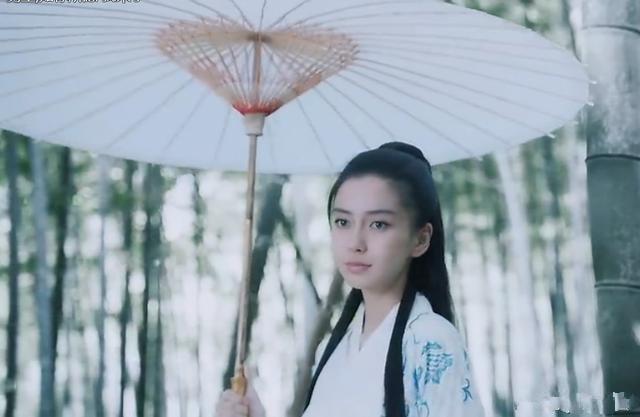撑伞的古装女子, baby,佟丽娅好唯美, 但网友喜欢的是