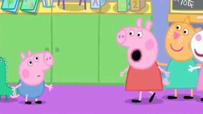 妈妈猪爷爷猪