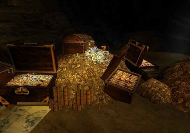 张献忠的宝藏到底价值如何,听说排名亚洲第一,财宝买尽成都城图片
