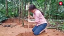 柬埔寨嫂子徒手建房,年薪20万直接被建筑公司免试上岗,大家看值不值