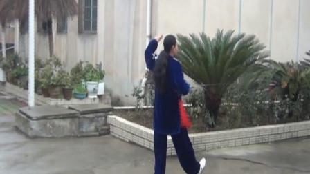 《太极剑》表演: 息烽县舞术协会