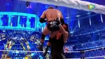 WWE美式摔跤娱乐 【WWE狂怒】送葬者15发锁喉抛摔 带你聆听地狱的召唤