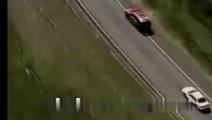 高速公路上的恐怖车祸发生全过程!