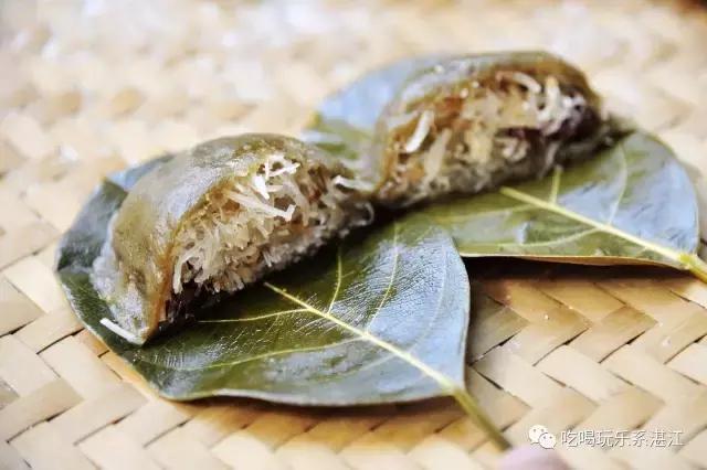 湛江年味之田艾木叶夹, 湛江人每年必做的饼食 高清图集