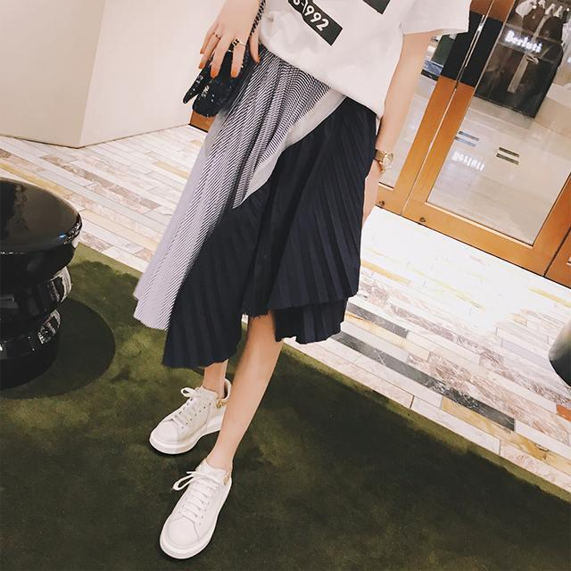 显瘦半身裙_潮流t恤+显瘦半身裙, 时髦俏皮, 个性显瘦