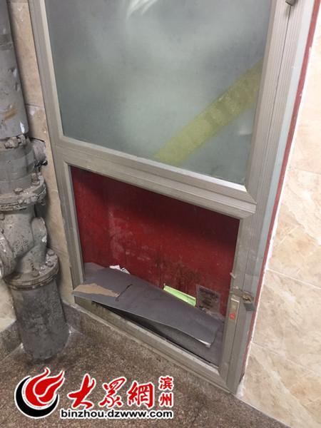 小区楼道门铃损坏