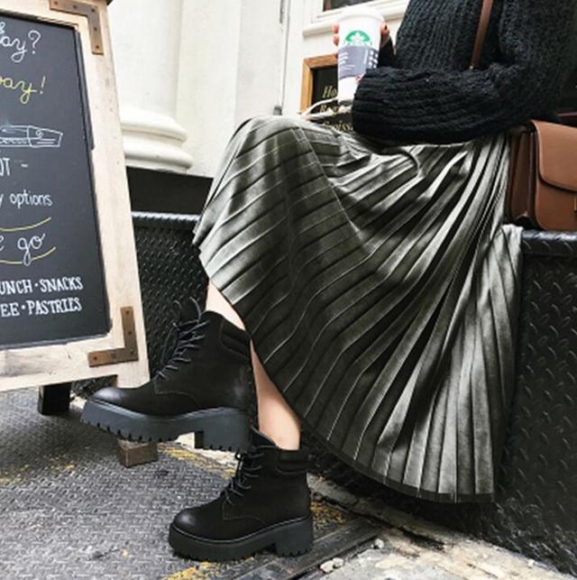 金丝绒半身裙_高段位丝绒半身裙, 这个春天穿出时尚feel