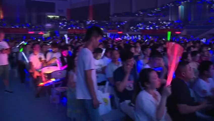 超有爱!孙楠杭州演唱会谈公益 为儿子特邀张杰助阵