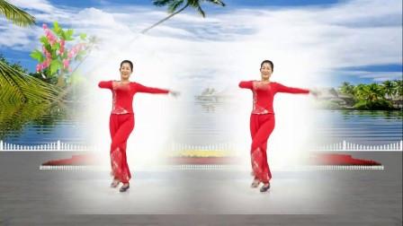 红领巾金社广场舞《九九艳阳天》编舞: 刘荣