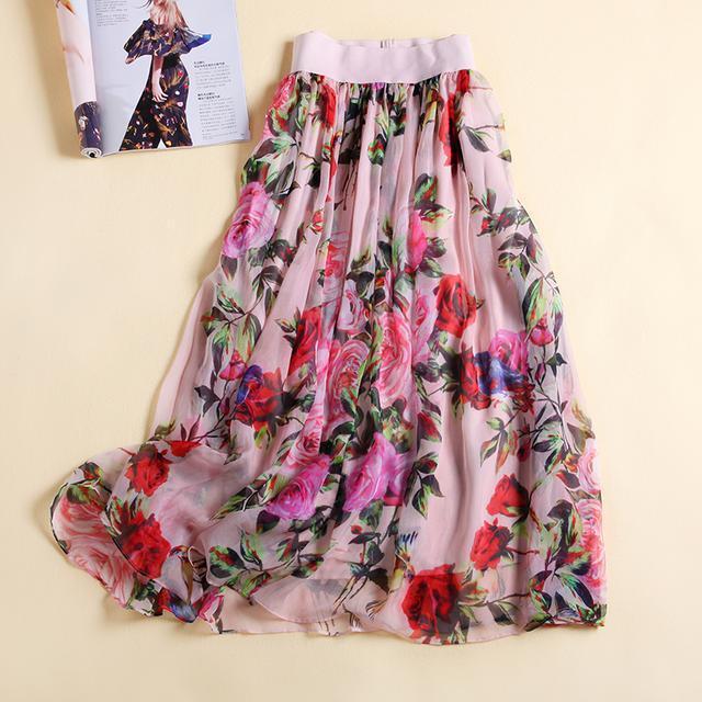 好看的半身裙_美丽的半身裙告诉你, 女人的夏天就该花枝招展