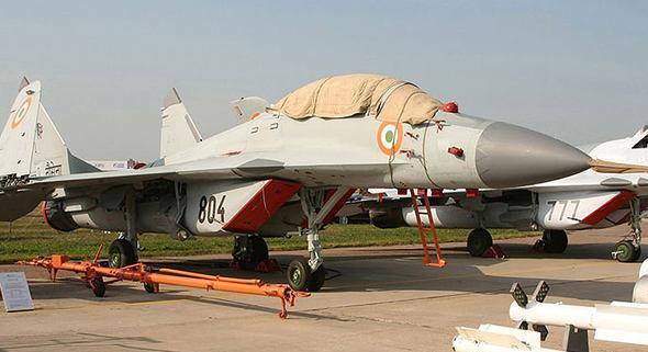 印度空军又因撞鸟坠毁, 这是今年第14架飞机