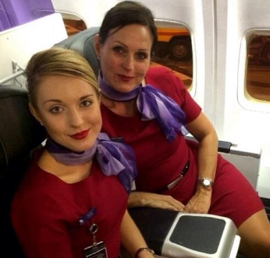 航班机长和空姐在飞机上如何睡觉, 航空公司公布幕后照片