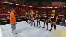 WWE7位硬汉单挑巨星约翰塞纳,看到约翰团队中的他还敢挑衅么