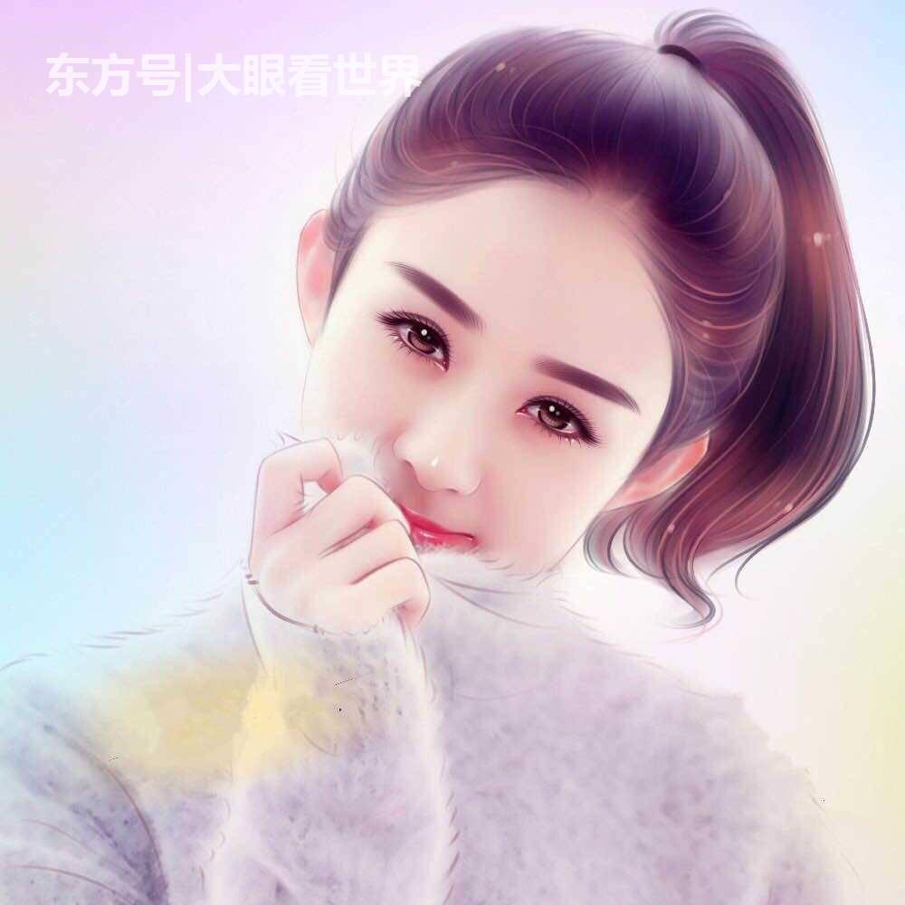手绘图: 赵丽颖可爱, 刘诗诗时尚, 郑爽最受欢迎杨洋动心了?