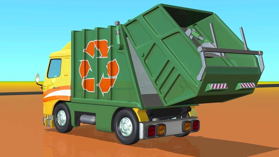 垃圾车 零式 简笔画