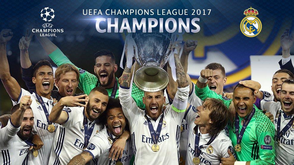 欧冠皇马4-1尤文成功卫冕, 连续六次欧冠决赛获胜创造图片
