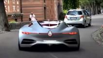 世界上开门方式最狂拽的概念汽车,让兰博基尼的剪刀门汗颜