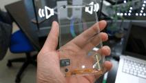 全透明手机诞生了,整体一块玻璃板,时尚程度不输iPhone7,赶超苹果很多年!三星也无声!