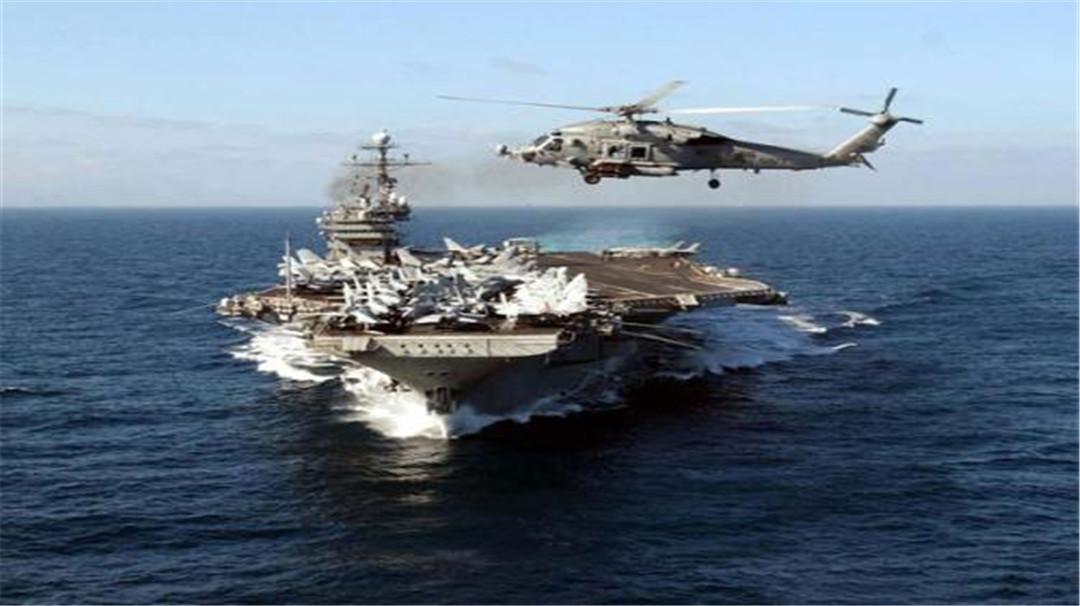 """无视警告再次""""自由航行"""", 俄14发导弹直接升空, 美航母狼狈逃向中方"""