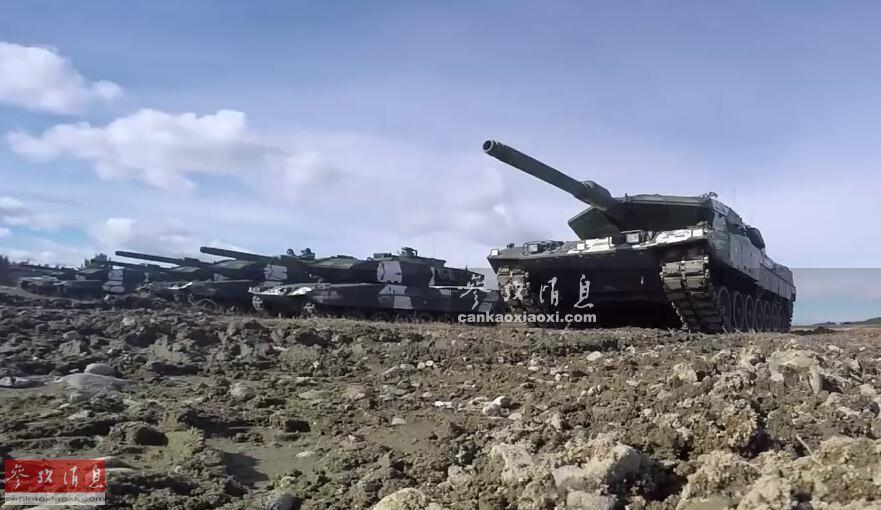 1分钟内灭六目标! 瑞典豹2坦克实弹打靶(图10)