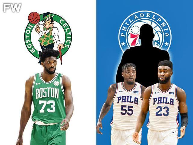 NBA大变天,,海沃德和恩比德的四巨头组合,绿军又组4巨头,面对湖人雄鹿这些拥有高大中锋的强队时(图2)