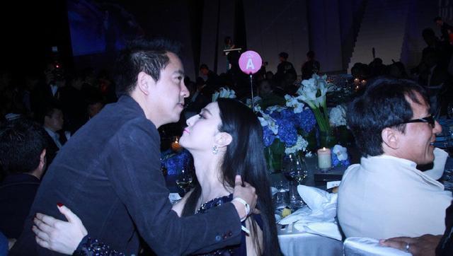 和华谊大佬王中磊有过亲密接触的女星, 有谁注意到杨颖的手了(图2)