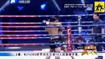 一拳KO打死了泰拳王,中国勇士用力过猛一拳击中对手面门不知死活