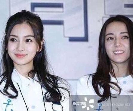 迪丽热巴杨颖素颜同框, 一个贵妇一个少女你更喜欢哪一个呢?