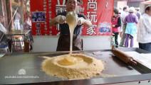 【各国路边小吃】中国台湾路边摊 麦芽糖的制作