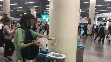 上海某男艺人被垃圾分类逼疯