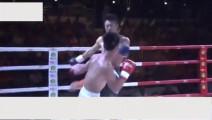 日本拳手被踢倒后多次耍帅,中国小伙最后一脚让他站不起来!