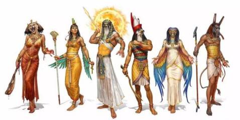 好乱 古代埃及的神话崇拜和希腊神话差不多,一开始也是这样的神那样的